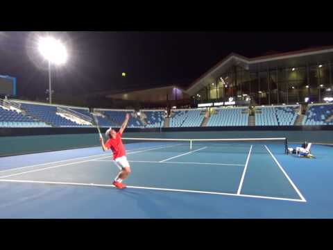 Ryan O'Meara Tennis Recruitment Video