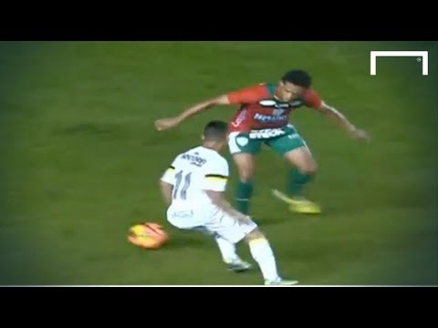 The new Neymar - Incredible goal from Neilton