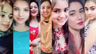 Musically punjabi girls tiktok video #17   chehra masoom jeha ni tere   tiktok punjab   askofficial