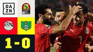 Mohamed Salah & Co. mit perfektem Auftakt: Ägypten - Simbabwe 1:0 | Afrika-Cup | DAZN Highlights