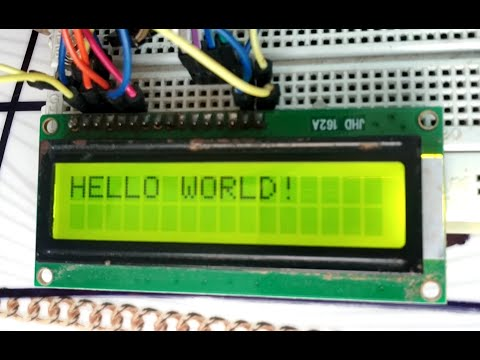 LCD(16x2) Using Arduino Part-1(pin Configuration)-  Tamil