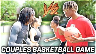 COUPLES BASKETBALL GAME FT NYYEAR & JALYN!!!😍