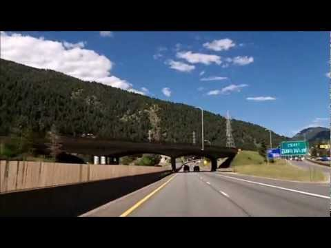 I-70 Colorado, Climbing The Rocky Mountains