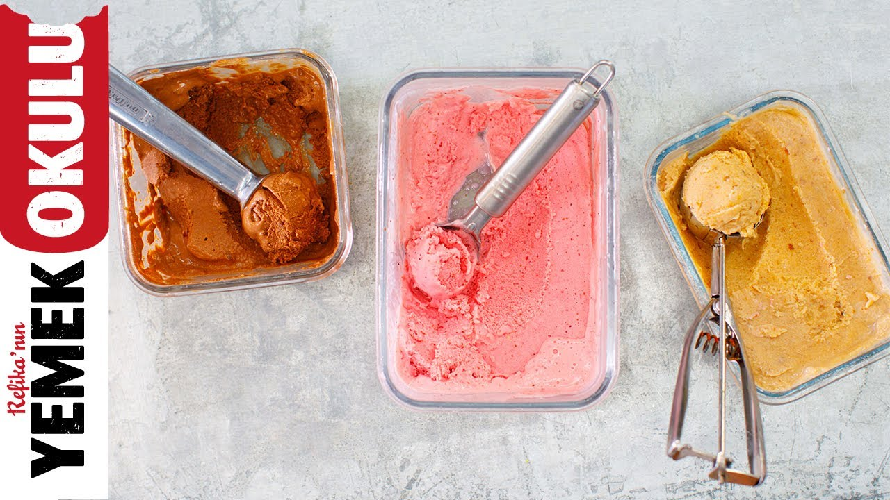 Evde Dondurma Yapımı 1: Yoğurttan Dondurmalar