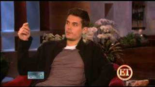 John Mayer's Jennifer Aniston Sleepover Confession!