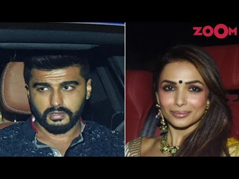 Arjun Kapoor-Malaika Arora ARRIVED together at Karan Johar's Diwali party! | Bollywood News