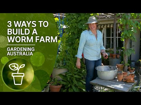 Three Easy Ways To Build A Worm Farm