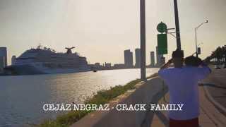 Cejaz Negraz - Lagrimaz [ Crack Family GZ ] ( Video Oficial )
