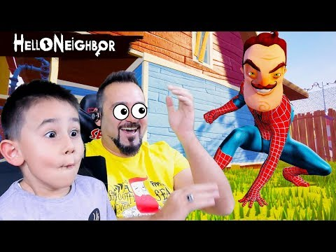 HELLO NEIGHBOR WILSON SPIDERMAN OLDU! | HELLO NEIGHBOR #4