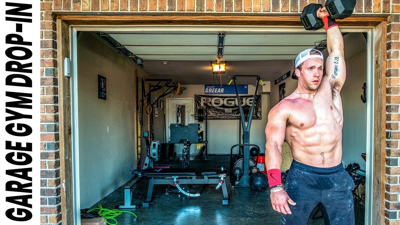 World S Fittest Teacher S Crossfit Garage Gym Garage Gym Drop In Ep 2 Youtube