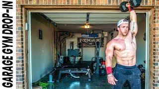 World's Fittest Teacher's CrossFit Garage Gym | Garage Gym Drop-In Ep. 2