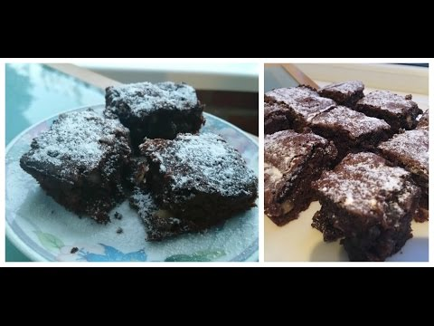 CHOCOLATE BRAZIL NUT BROWNIES!