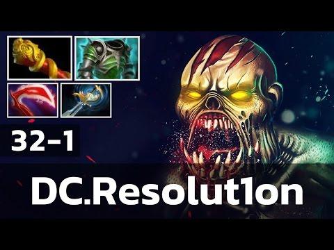 DC Resolution • Lifestealer • 32-1 — Pro MMR Gameplay Dota 2