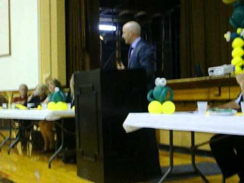 Tony Swiantek's Speech/Pratt High School 2014 Athletic ...