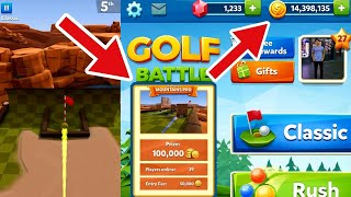 GOLF BATTLE - GETTING BETTER IN ROCKY MOUNTAIN PRO AND 14 MILLIONS COINS
