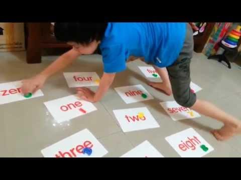 สื่อการสอนปฐมวัย :: เรียนรู้จำนวนตัวเลข 1-10 ภาษาอังกฤษ