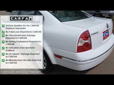 2003 Volkswagen Passat - El Dorado Motors - McKinney, TX 75070