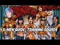 X-Men Guide: Training Squads