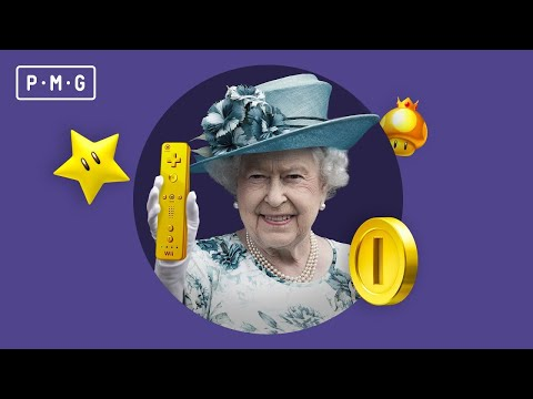 They found the Queen's golden Wii!