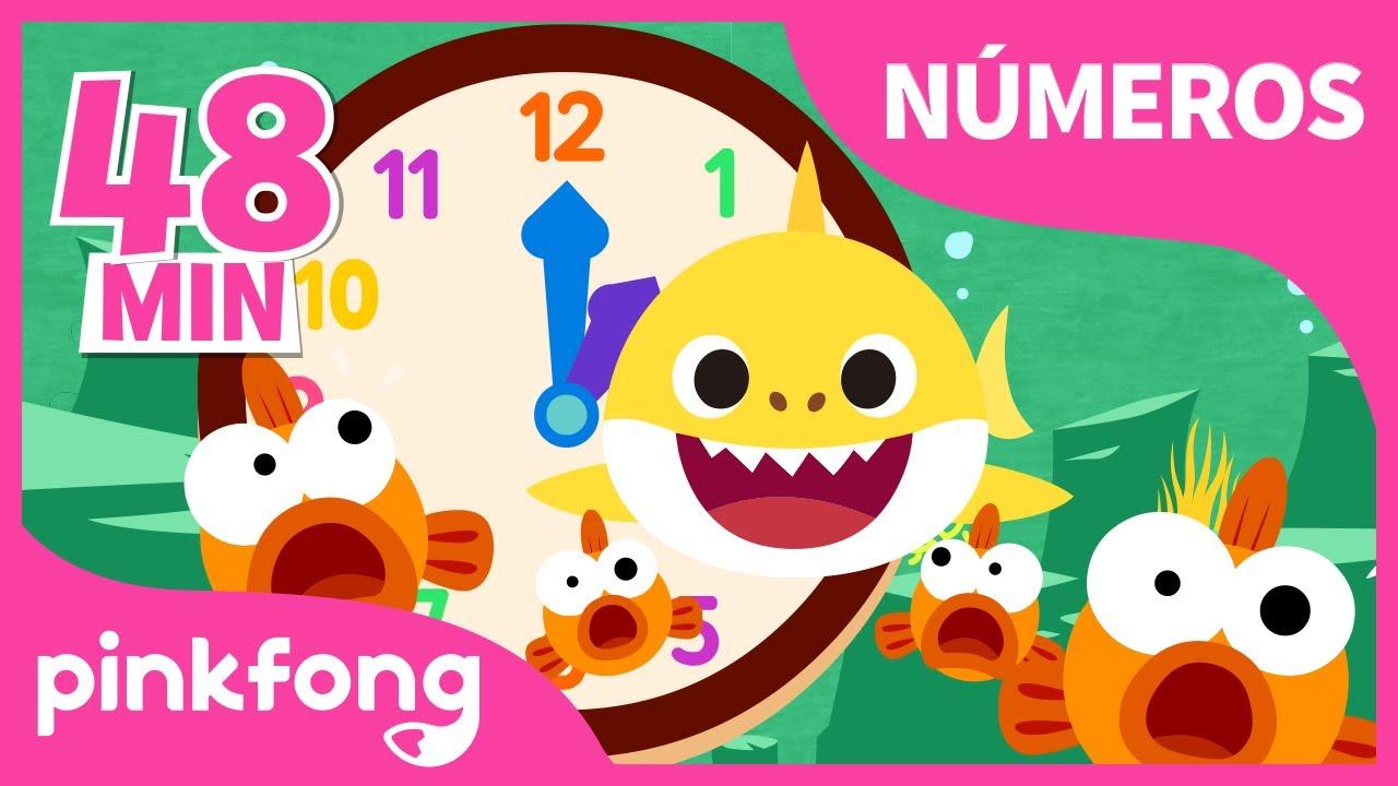 Números y Reloj para niños | +Recopilación | Pinkfong Canciones Infantiles