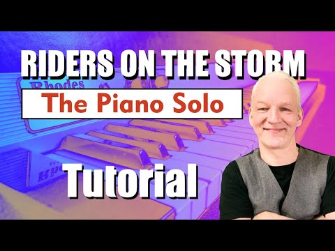 The Riders On The storm Piano Solo tutorial thumbnail