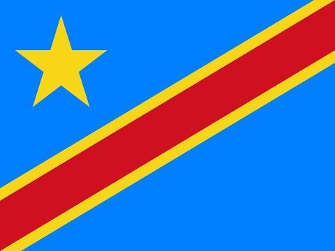 Флаг Демократической Республики Конго.
