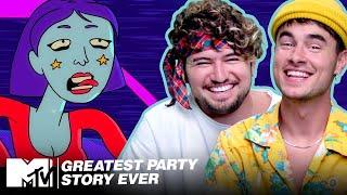 A Fandemonium Story w/ Kian & JC! 🚌 MTV's Greatest Party Story Ever