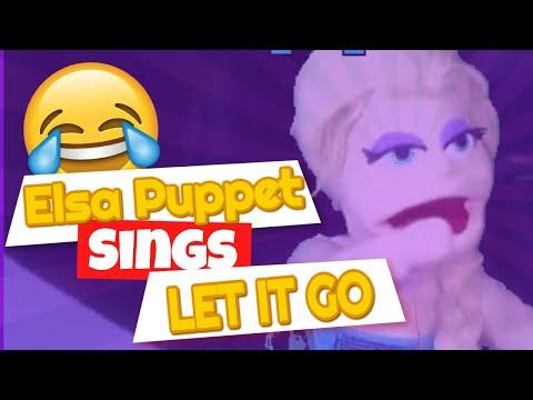 Frozen Elsa Puppet - Let It Go test 2