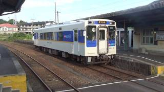 少しだけ海が見える!松浦鉄道 西九州線 日本最西端の鉄道