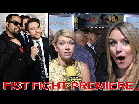 Charlie Day's Wife, Mary Elizabeth Ellis at Fist Fight Premiere