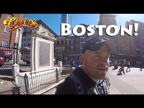 Downtown Boston, Cheers Bar, & Freedom Trail