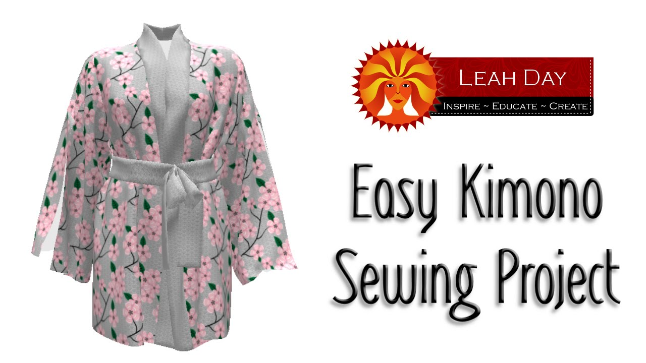 Easy kimono sewing project with sprout patterns youtube jeuxipadfo Gallery