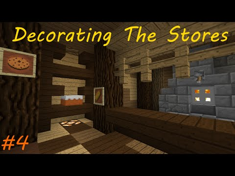 "The Village Builders #4: ""Decorating The Shops"""