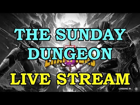 The Sunday Dungeon with Friends | Marvel Contest of Champions Live Stream