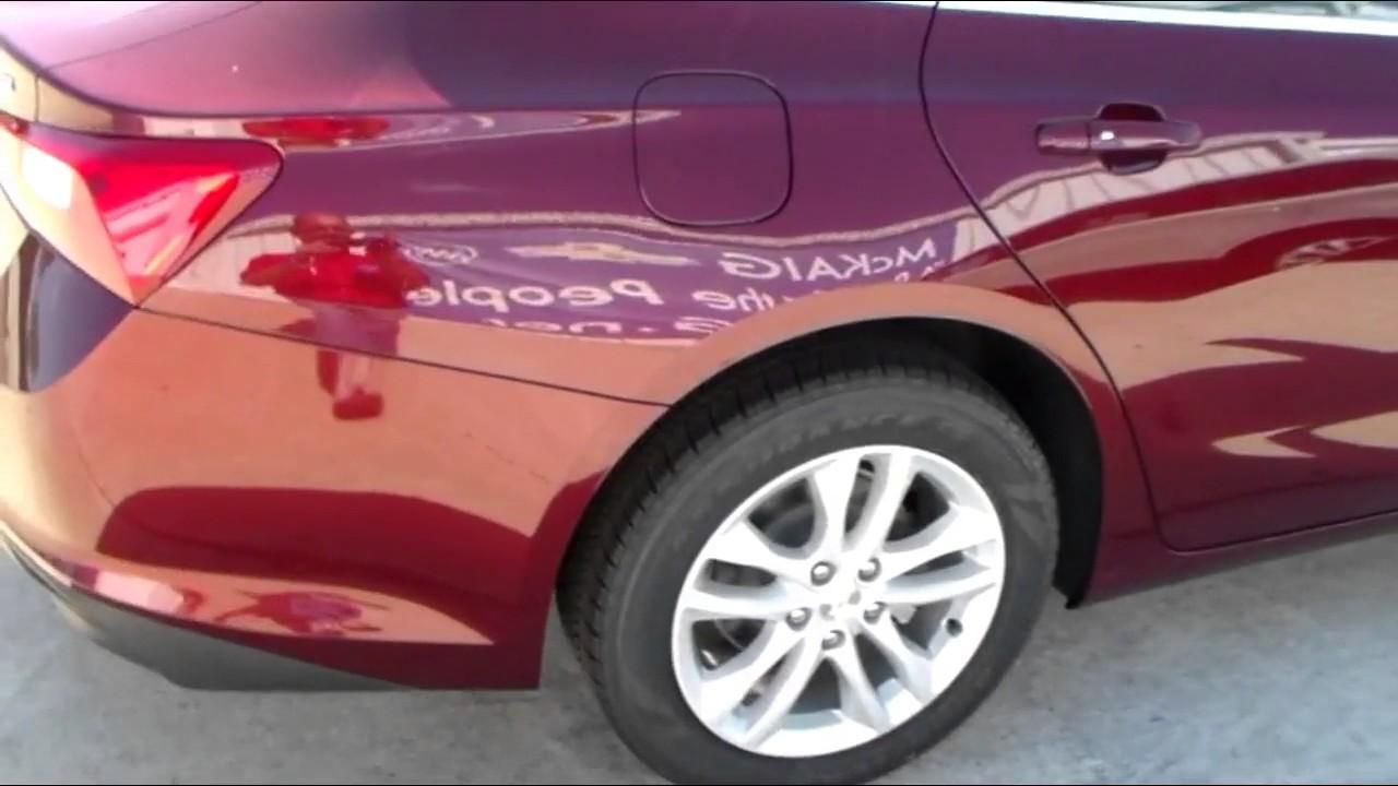 2017 Chevrolet Malibu Longview | Passive Entry Feature - YouTube