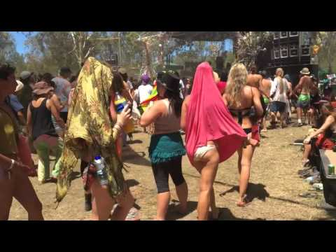 Earth Frequency Festival 2016 (Shorter version with music by Merkaba)
