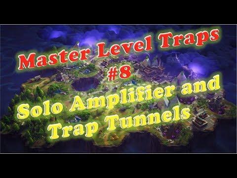 Fortnite Master Level Traps; Solo Amplifier Build