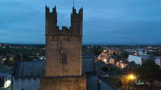 St. Mary Cathedral from drone - Limerick [RAW VIDEO]