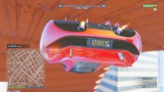 FINAL SUPER FALSO!! QUE FALSO!!!! - Gameplay GTA 5 Online Funny Moments (Carrera GTA V PS4)
