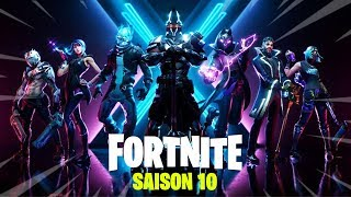 ALL NEW OF THE SAISON 10 OF FORTNITE ... (GIFT FIGHT PASS)