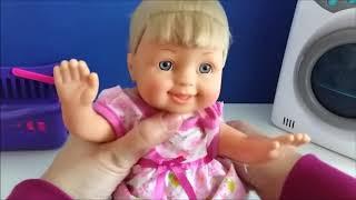 Baby Doll Ħasil Gadget Ġugarell Ħasil Ħwejjeġ Konverżjoni Baby Emmi Hd  # 29