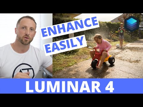 Adjusting our Photo's Light and Color || Luminar 4 Tutorial thumbnail