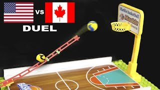 MARBLE BASKETBALL DUEL - USA vs CANADA - BEST ROUND 4
