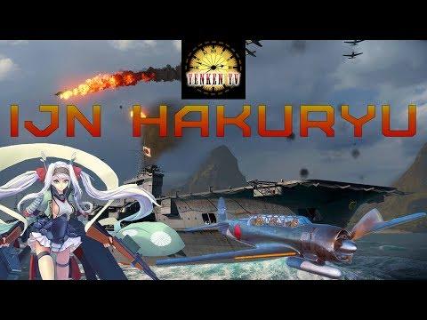 [TenkenTV] IJN Hakuryu Несостоявшийся милитарист. [World of Warships]