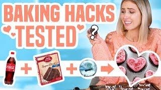 TESTING VIRAL BAKING HACKS...what ACTUALLY worked?