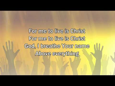 Let It Be Jesus - Christy Nockels (2015 New Worship Song with Lyrics)