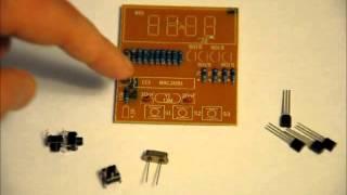The Inexpensive 4-digit Digital Clock Diy Electronics Kit