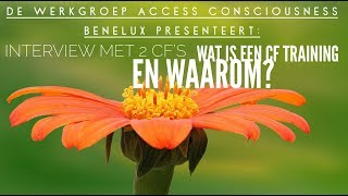 Wat is een Access Consciousness CF training?