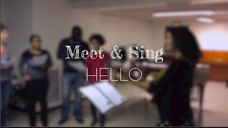 MEET & SING - Hello (Adele) Stage London Calling