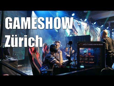 Eindrücke von der Zürich Game Show 2017